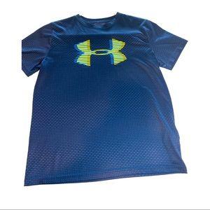 Boys Under Armour Short Sleeve Heatgear T Shirt